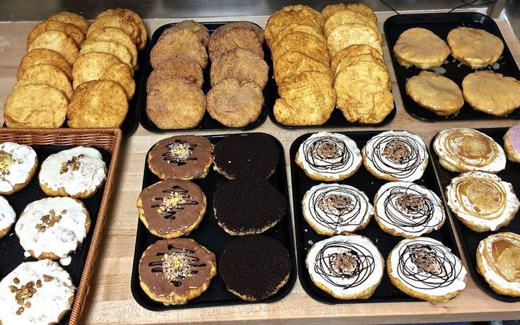 An assortment of delicious bannock at Kekuli Cafe!