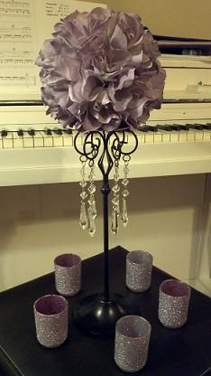 centerpiece in progress... | Weddingbee DIY Projects