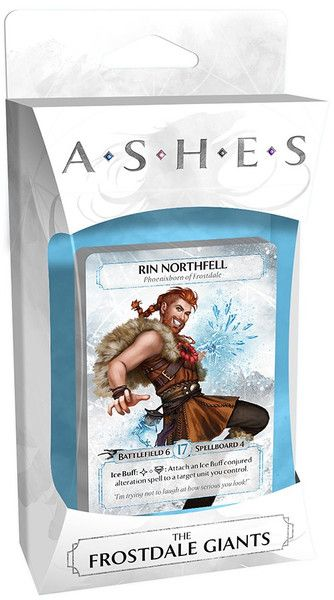 Ashes: Rise of the Phoenixborn – The Frostdale Giants - Q2 2016