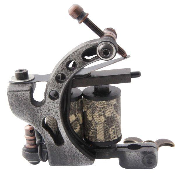 Купить товарПрофессиональный литья железный татуировки 10 обертывания катушки из нержавеющей стали татуировки боди арт пистолет макияж инструмент 1110454 в категории Инструменты для татуажана AliExpress.