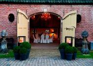 Vergaderen of dineren in Koetshuis landgoed den Alerdinck nabij zwolle in een natuurrijke omgeving