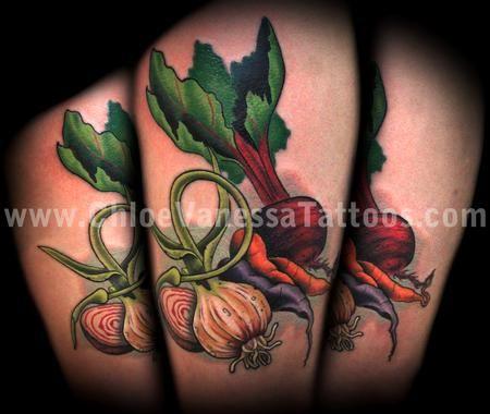 Google Image Result for http://www.galleryoftattoosnow.com/ChloeVanessaUnholyGrailTattooHOSTED/images/gallery/medium/vegetable_garlic_radish_beet_carrot_root_leaves_food_tattoo_now_chloe_vanessa_marked.jpg