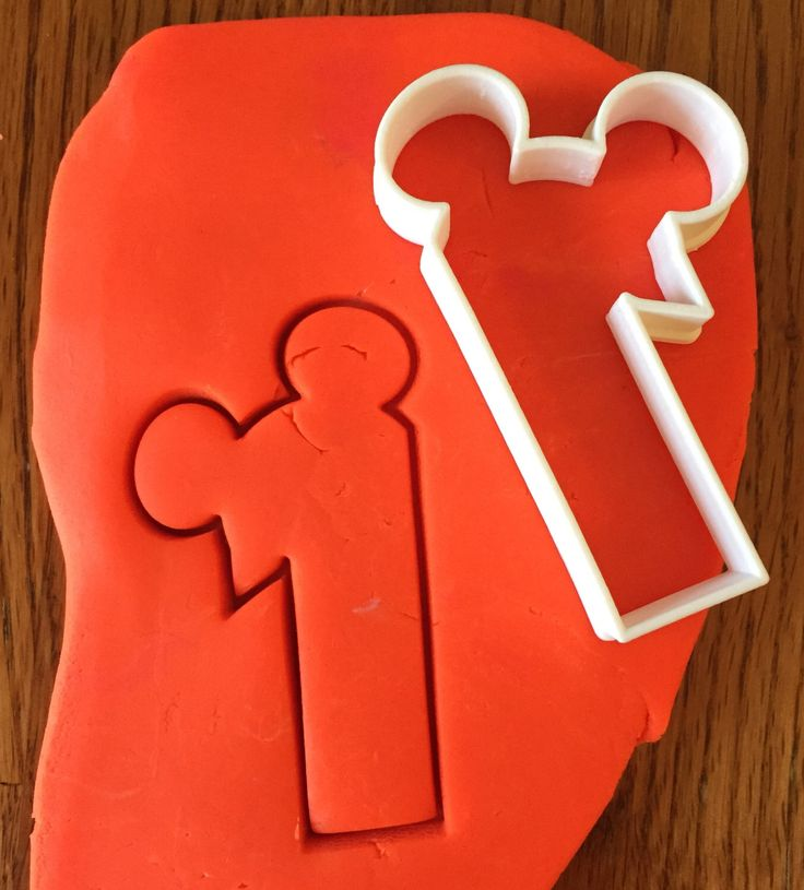 Number One with Mickey Mouse Ears cookie and fondant cutter by ThreeDGeek on Etsy https://www.etsy.com/listing/246304435/number-one-with-mickey-mouse-ears-cookie