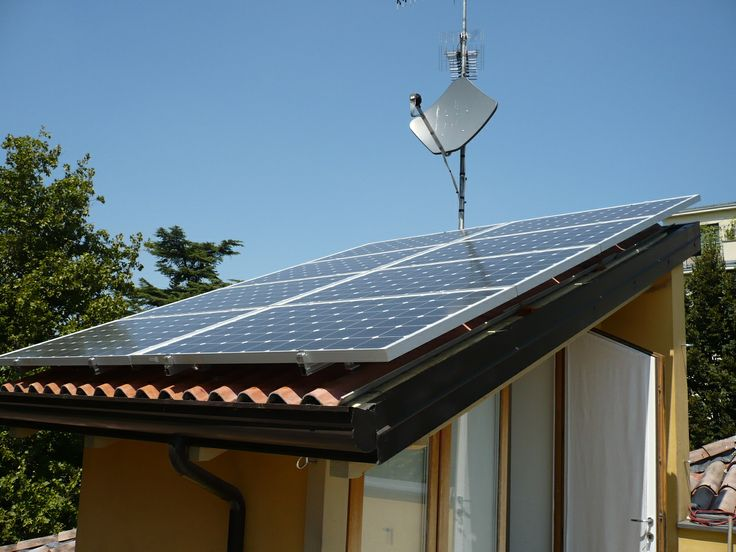 2 kW just the size of the tiny upper roof. Italy 2011