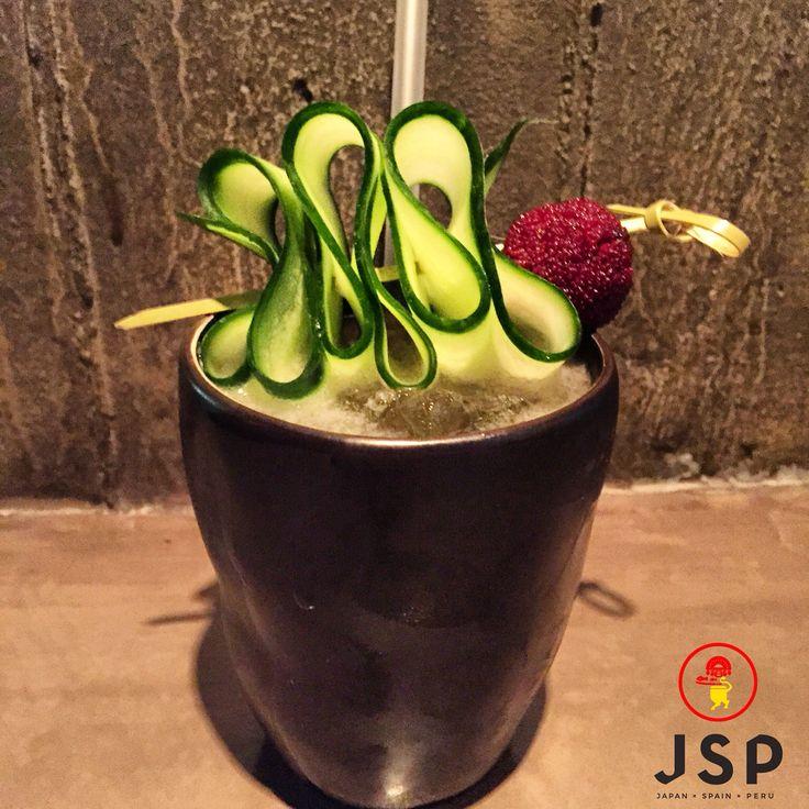 Nodo***** Absolut Vodka/Dry Sake/Umeshu/Cucumber Syrup/Fresh Lime Juice/Yamamomo Cinco JSP Let's rock \m/