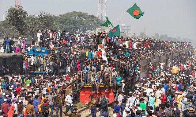 Новости: Час пик в Бангладеш