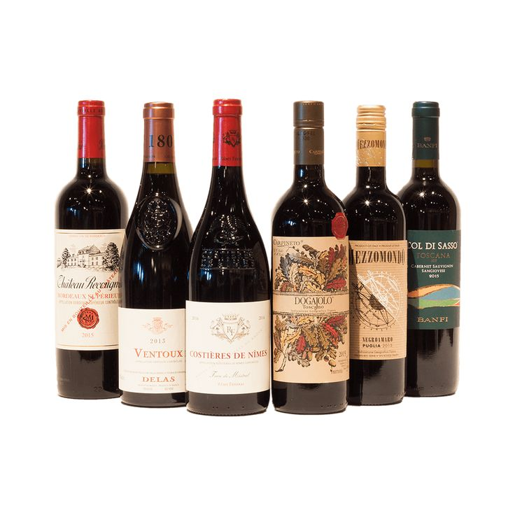 Olympic Mix Six Wine Packs are here! France vs Italy
