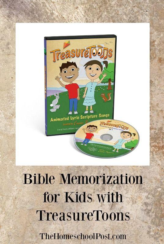 Practice Bible Memorization with TreasureToons