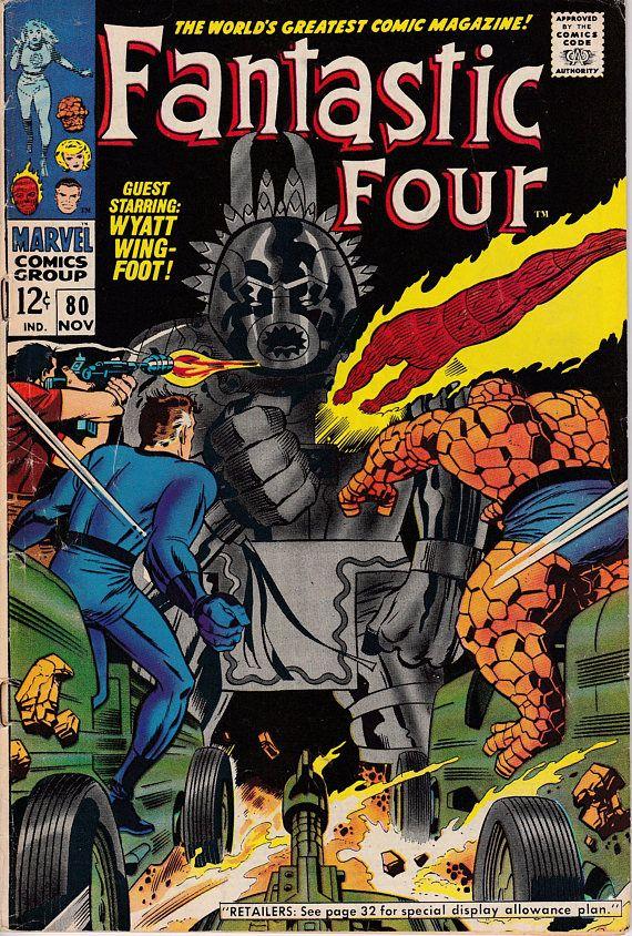 Fantastic Four 80  1961 1st Series November 1968 Marvel