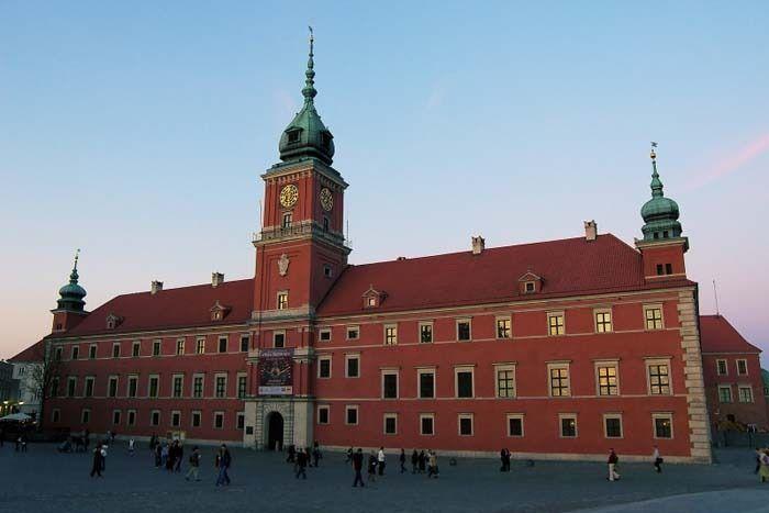 Le château royal de Varsovie, sur la Grande Place du Marché - Photo © Lukasz Kowalczyk - Flickr.com #Pologne