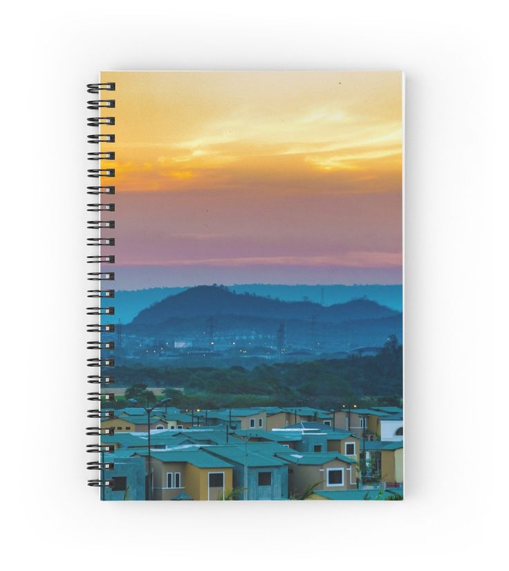 Landscape Scene at Guayaquil, Ecuador Notebook