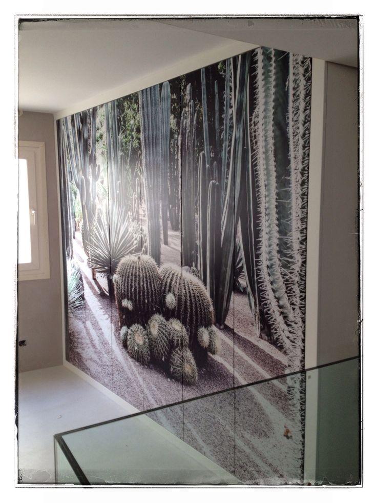 Fotomural para puertas armario. Vinilo AveryGraphics MPI2900 + laminado mate. Cliente: LEDMOBEL  #fotomurales #vinilosdecorativos  #wallprint