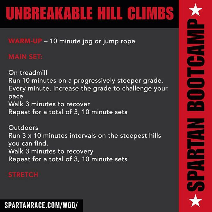 Spartan Race Workout Program