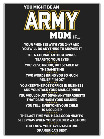 a620174c Discover You Might Be An Army Mom If T-Shirt from Army Mom T-Shirts, a  custom product made just for you by Teespring. With world-class production  and ...