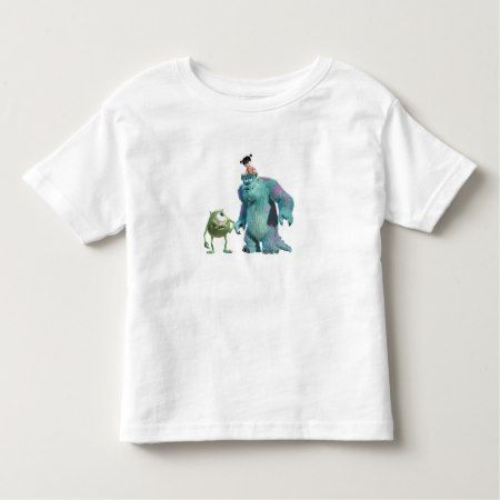 Monsters, Inc.'s Mike, Sulley, and Boo Disney Toddler T-shirt - click/tap to personalize and buy