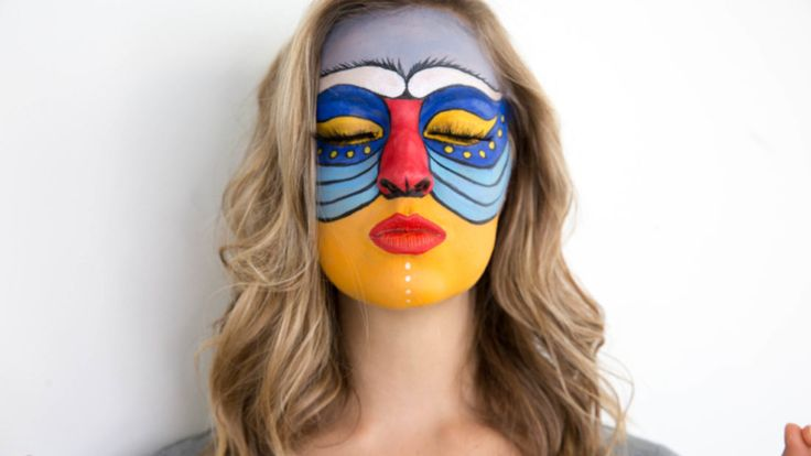 Our favorite trend this Halloween is super detailed animal makeup! Watch this tutorial on how to do Rafiki Halloween makeup from the Lion King! - Metiza