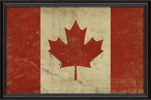 Prints: BC Canadian Flag