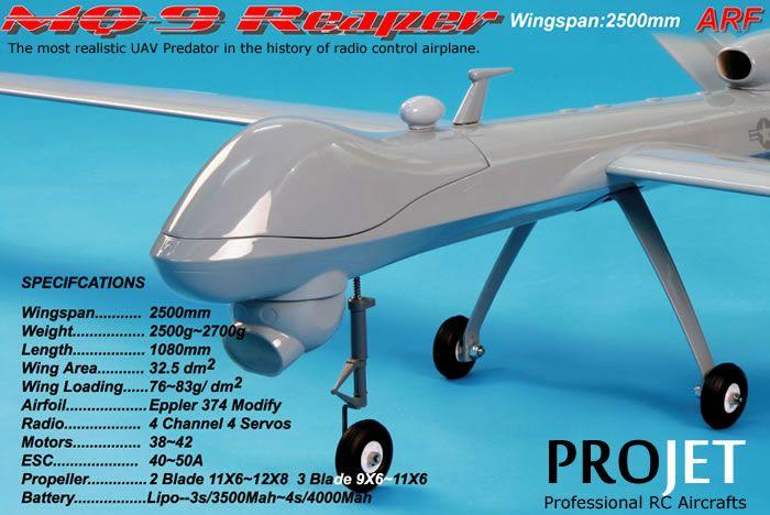 NitroPlanes - MQ-9 REAPER - RCU Forums   Uav, Radio control airplane, Uav  drone