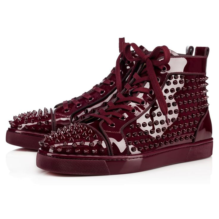 Souliers Homme - Louis Orlato Metal Vernis/spikes - Christian Louboutin