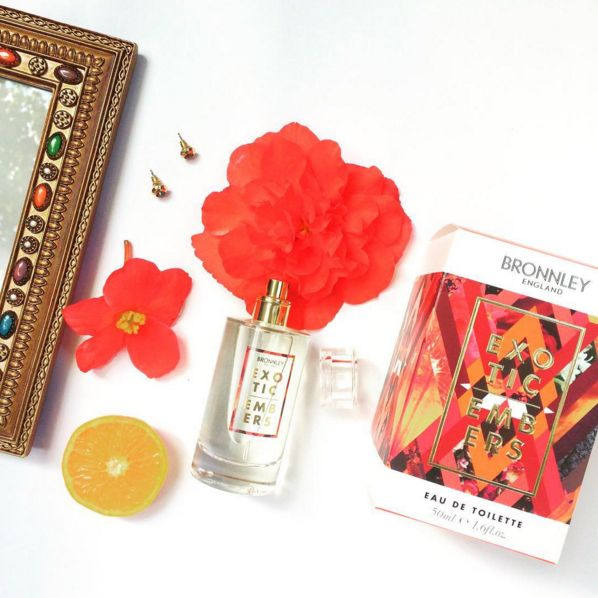 Exotic Embers by @bronnley  #beauty #fragrance #exotic #fruity #tropical #bronnley