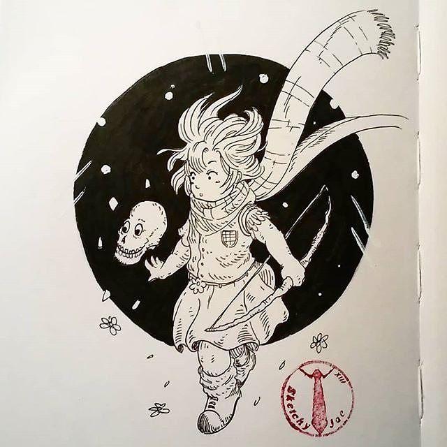 "Reposting @sketchy_jae: ""Little Archer""  :)"