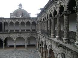 """""""El Claustro del Ex Convento de la Merced, construido en el siglo XVII por la orden de los mercedarios, y que es considerado uno de los pocos ejemplos de estilo mudéjar en  una construcción colonial que sobreviven en el país,"""""""