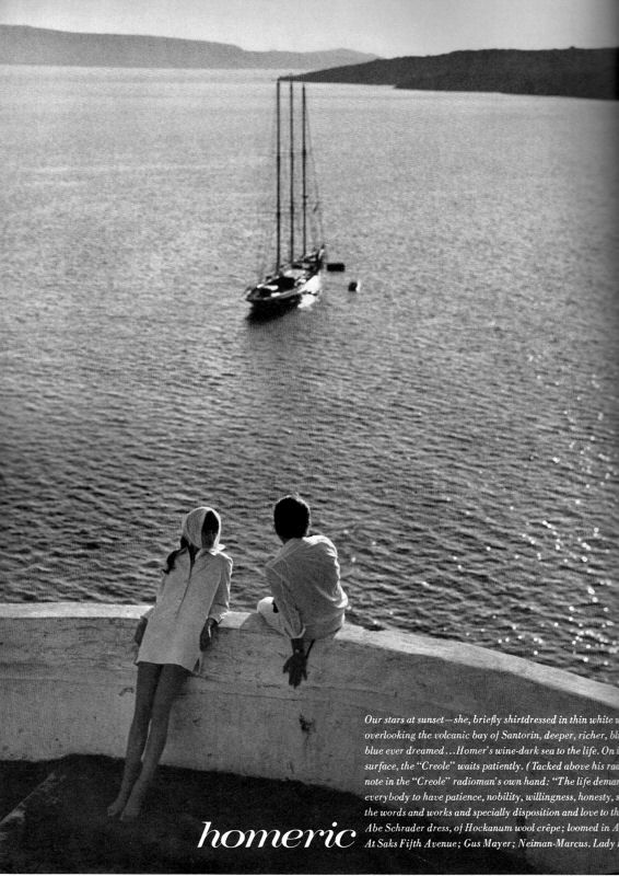 richard avedon - jean shrimpton, vogue 1967