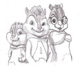 alvin and the chipmunks coloring pages free chipettes colouring pictures