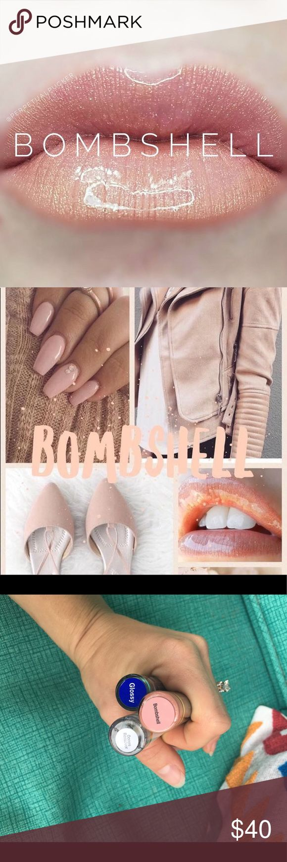 Bombshell Lip Sense Kit Selling a brand new & sealed bombshell Lip Sense Kit. Comes with color, oops remover & glossy. All essential for proper application. Lipstick that stays on for 18 hours! Retails for $55 selling for $42 lip sense Makeup Lipstick