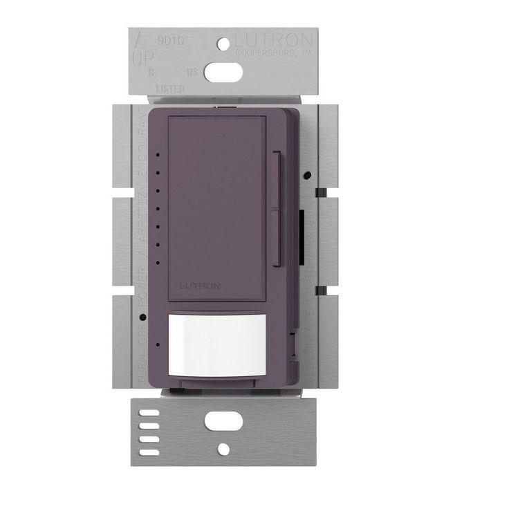 Maestro 150-Watt Single-Pole/Multi-Location CFL-LED Dimmer with Occupancy Sensor -