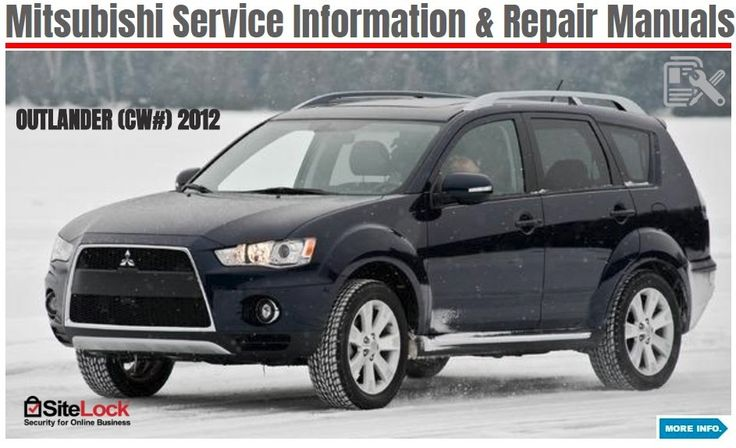Mitsubishi Outlander 2006-2016 Repair Manual: 2006-2016 Mitsubishi Outlander Repair Manual