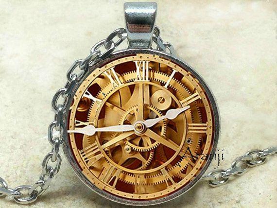 Orologio pendente collana orologio orologio gioielli di Aranji