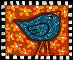 Art: Little Birdie by Artist Cindy Bontempo (GOSHRIN)