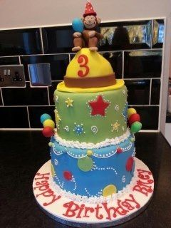 Lovely cake to do, little boy loved it.
