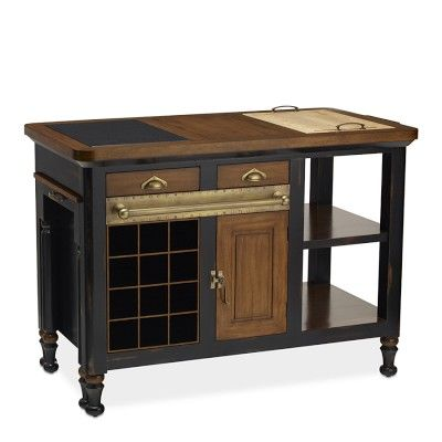 I love the Bastille Kitchen Island on Williams-Sonoma.com...just not the price lol.