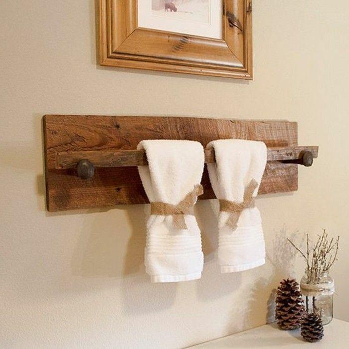 Best Salle De Bain Images On Pinterest - Porte manteau salle de bain