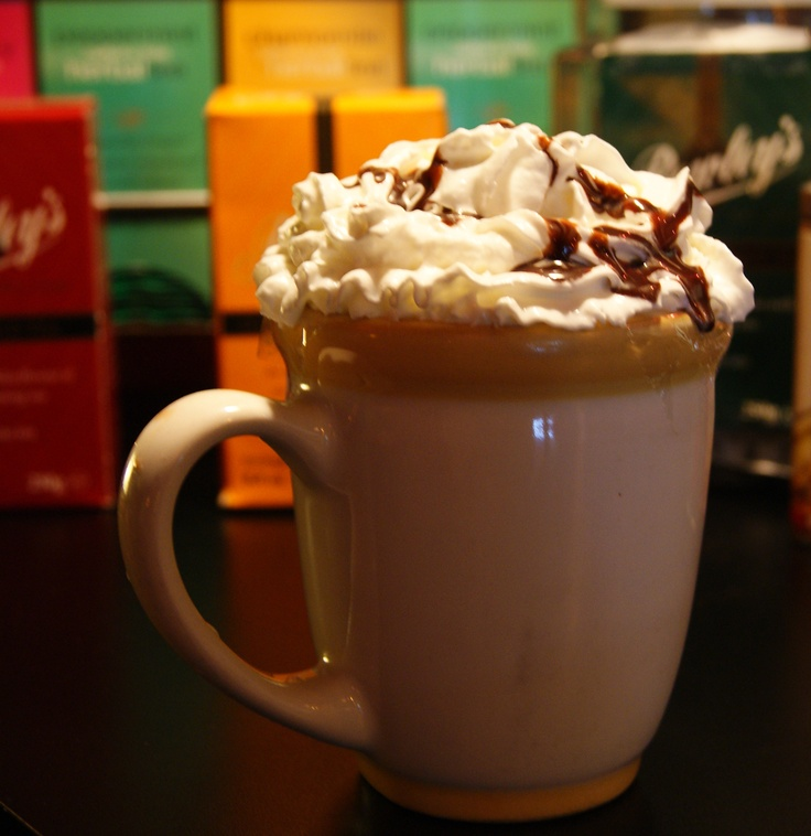 caramel, cream, capuchino, coffee