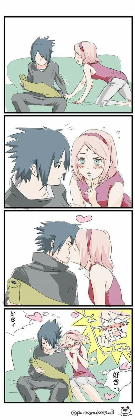 Sakura tanto esfuerzo q pusiste y ahora estas con la persona q quisite con toda tu alam