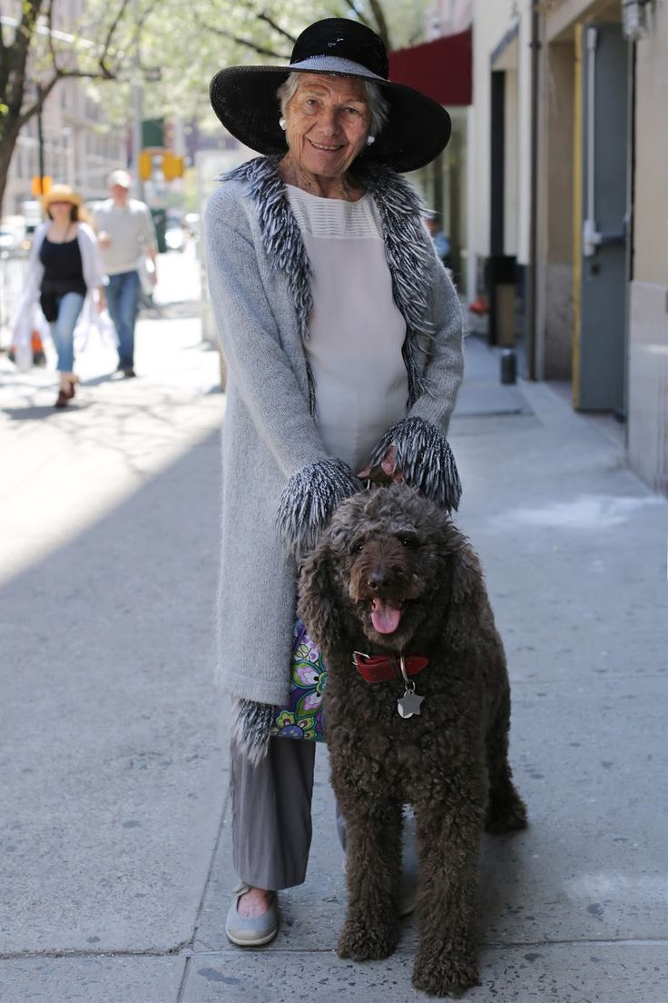 Dressing Up To Walk The Dog Advanced Style  Ideas For -8148