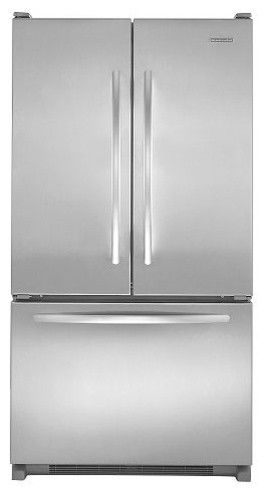 KitchenAid French-Door Refrigerator w/ Interior Water Dispenser - contemporary - refrigerators and freezers - searsoutlet.com