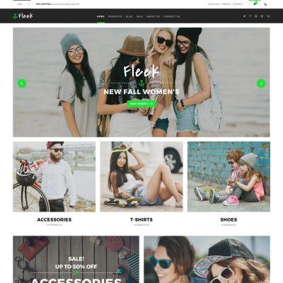 Fleek - Fashion Responsive Responsive Shopify Theme