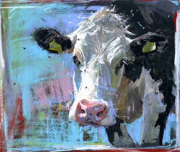 James Bartholomew RSMA | Cows  http://www.jamesbartholomew.co.uk