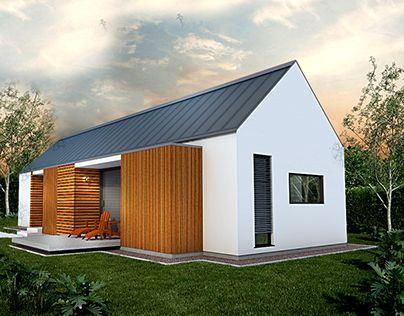 K2MODUL, hiša,modern small house,home