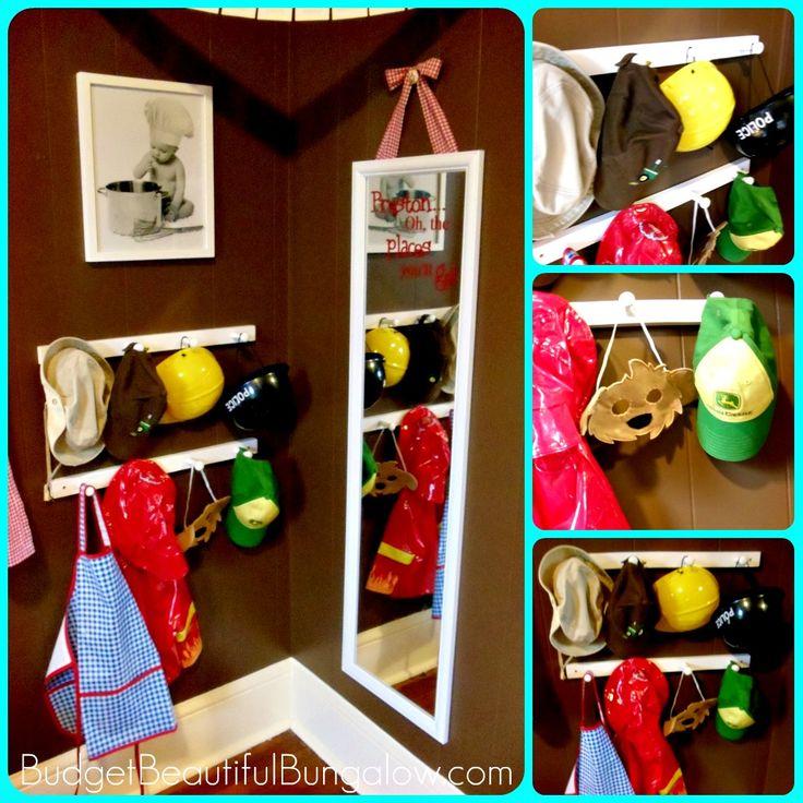 Toddler Room {Dress-Up Corner}