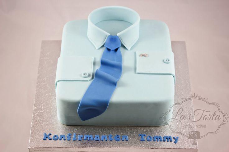 La Torta - unike kaker: Konfirmasjon - skjortekake