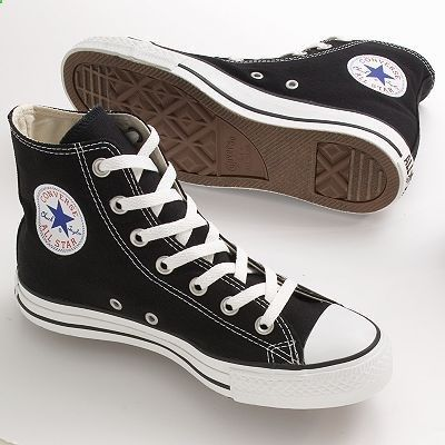 0ea479be456175 Ive only got red low cuts but these black Converse Chuck Taylor All Star  High-Top Shoes - Unisex.