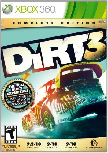 Dirt 3: Complete Edition -Xbox 360 - http://battlefield4ps4.com/dirt-3-complete-edition-xbox-360/ BTW...for the best game cheats, tips,DL, check out: http://cheating-games.imobileappsys.com/