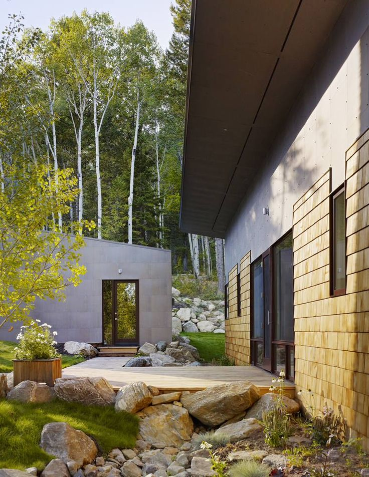 Gallery: Fish Creek Guest House by Carney Logan Burke « Small House Bliss