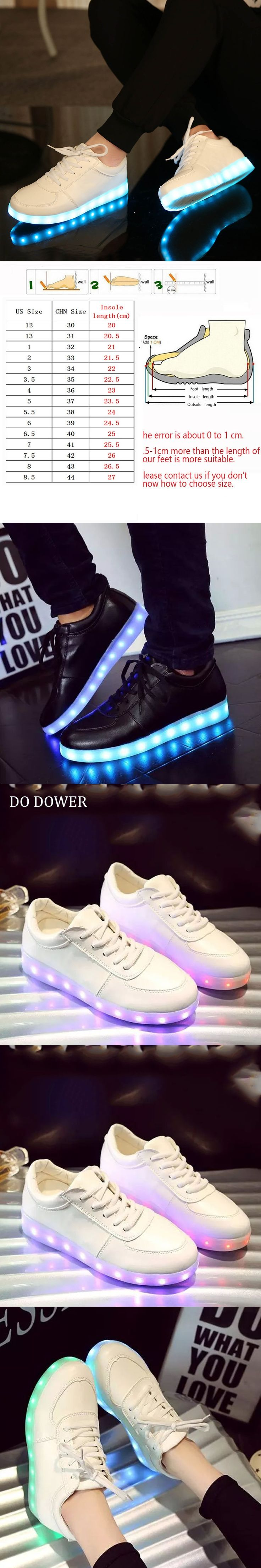 Glowing Sneakers  charging Tenis Led Feminino Basket Led Enfant Light Up Trainers Kid Casual Boy&Girl Luminous Led Child shoes