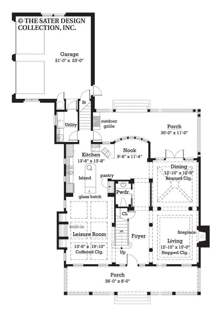 94 best Cottage House Plans - The Sater Design Collection ...
